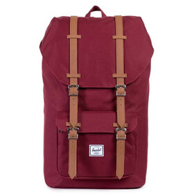 Herschel Little America Selkäreppu, windsor wine/tan
